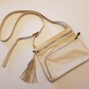 Hobo The Original Off-White Crossbody Bag
